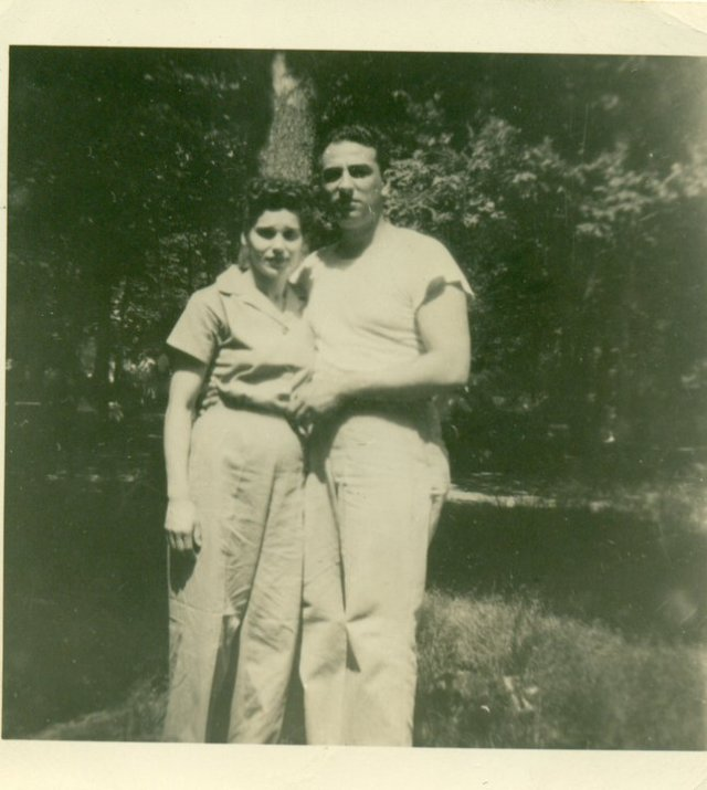 How cute are they? Anna & Joe Barra - date unknown