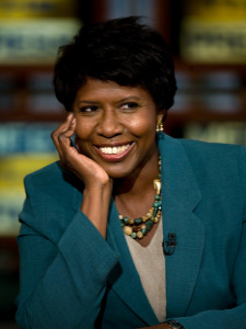 Gwen Ifill is my FAVORITE news person EV-AH